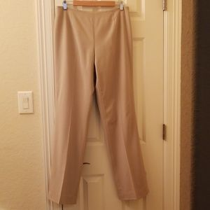 Dana Buchman side zip trousers